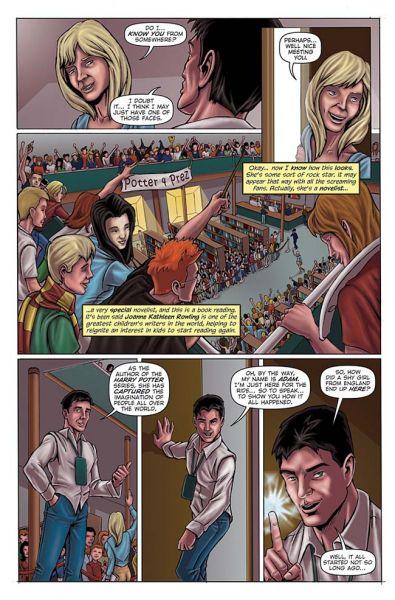 Potterish :: Harry Potter, o Ickabog, Animais Fantásticos e JK Rowling Confira as primeiras páginas da revistinha sobre JKR!