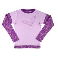 l_MAGICALCREATURES_Apparel_Youth_HarryPotter_Apparel_OwlGirlsDoubleSleeveFashionTop_YHPOWL2FERT_PRP.JPG